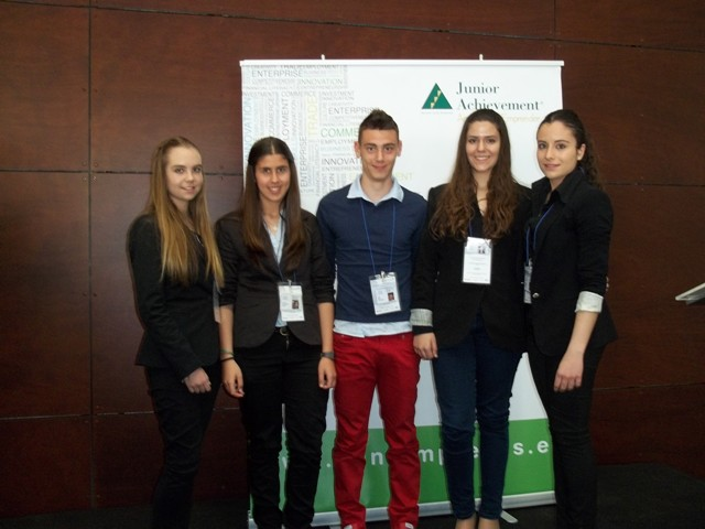 Miniempresas Junior Achievement en Madrid
